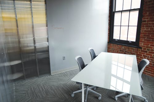 Free stock photo of clean, desk, meeting