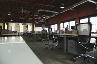 office, business, chairs