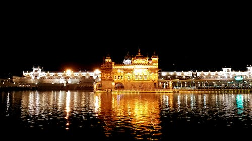 Free stock photo of Golden Temple, Golden Temple night
