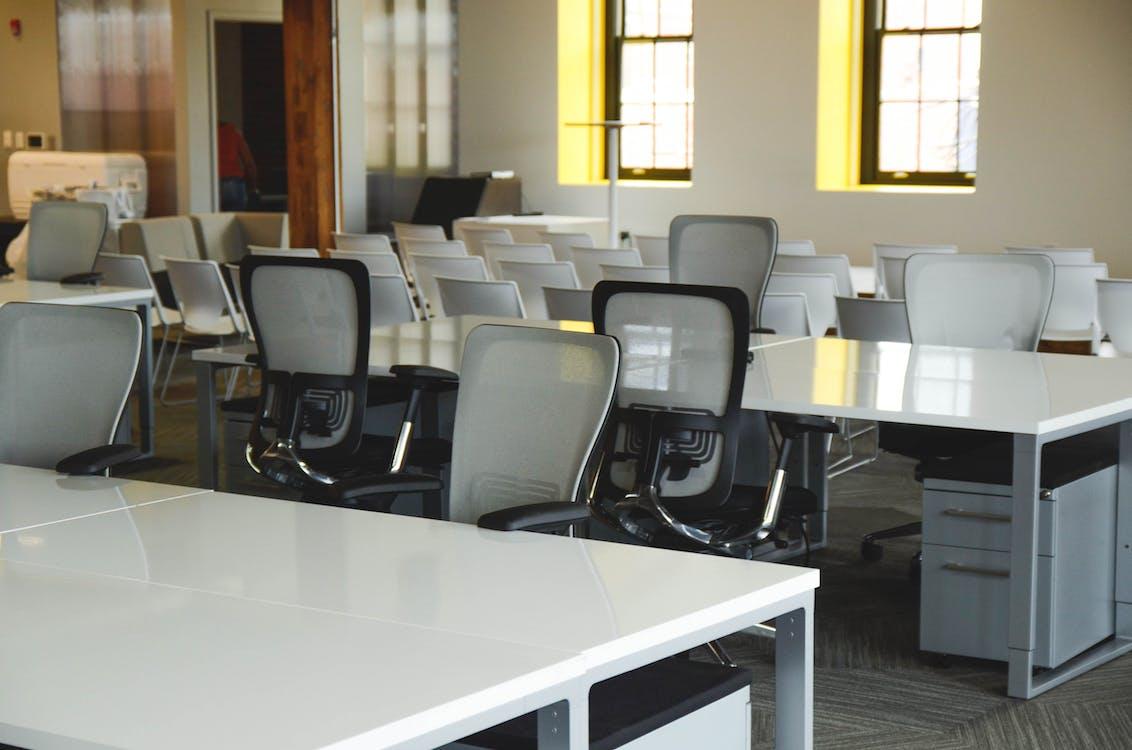 biurka, biuro, coworking