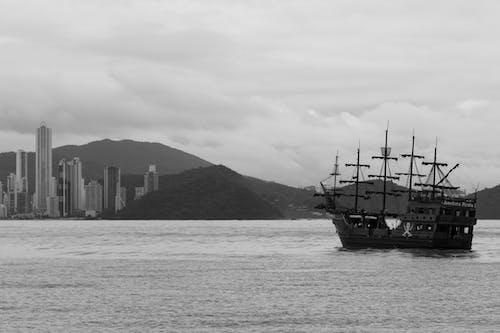 Kostnadsfri bild av aqua, b & w, brasilien