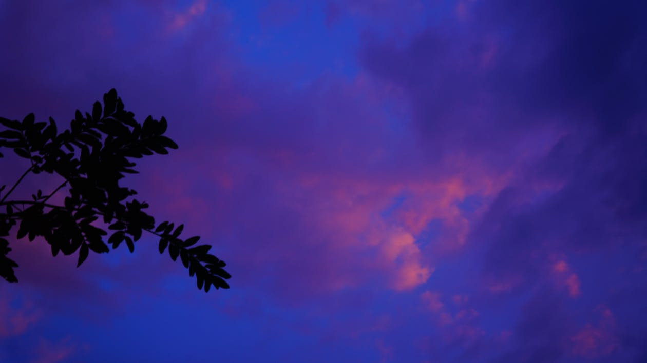 Free stock photo of blue, clouds, evening sky
