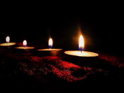 Бесплатное стоковое фото с горение, горячий, горящая свеча, жара