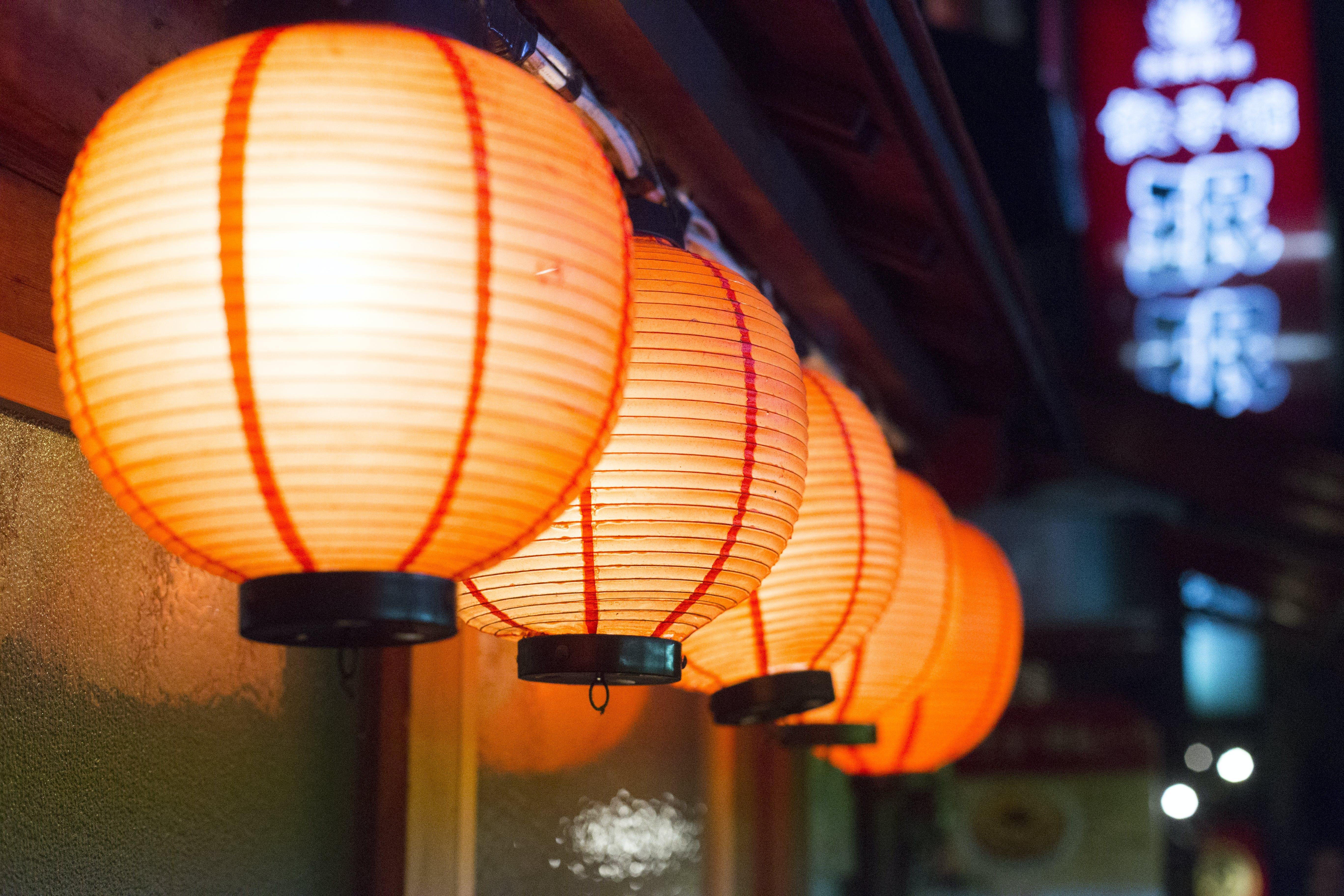 Kostenloses Stock Foto zu restaurant, beleuchtung, lampen, design