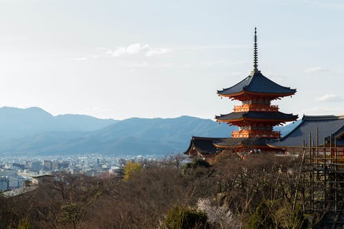 Free stock photo of japan, kyoto, temple, winter