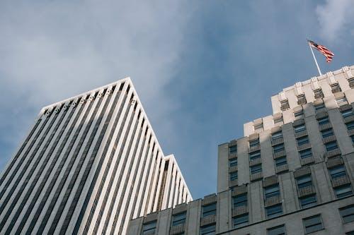 Ingyenes stockfotó alacsony szög, alulról, Amerika témában