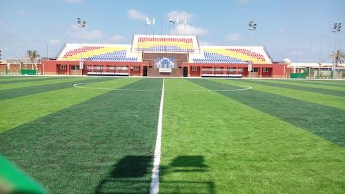 サッカースタジアム, 選手の無料の写真素材