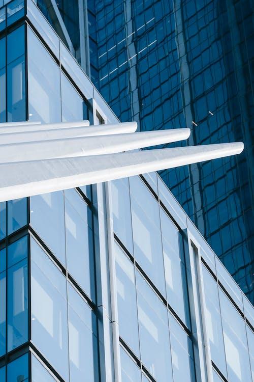 Immagine gratuita di america, angolo basso, architettura