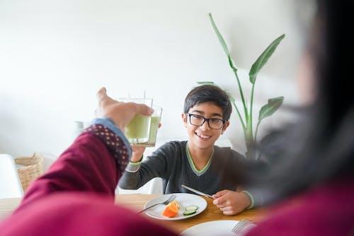 Základová fotografie zdarma na téma asijský kluk, brýle, dítě