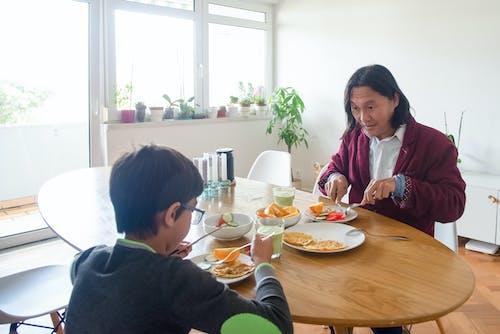 Základová fotografie zdarma na téma asiaté, dítě, doma