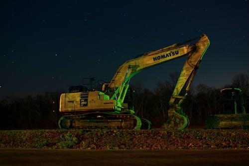คลังภาพถ่ายฟรี ของ กลางคืน, ดิน, ที่ดิน