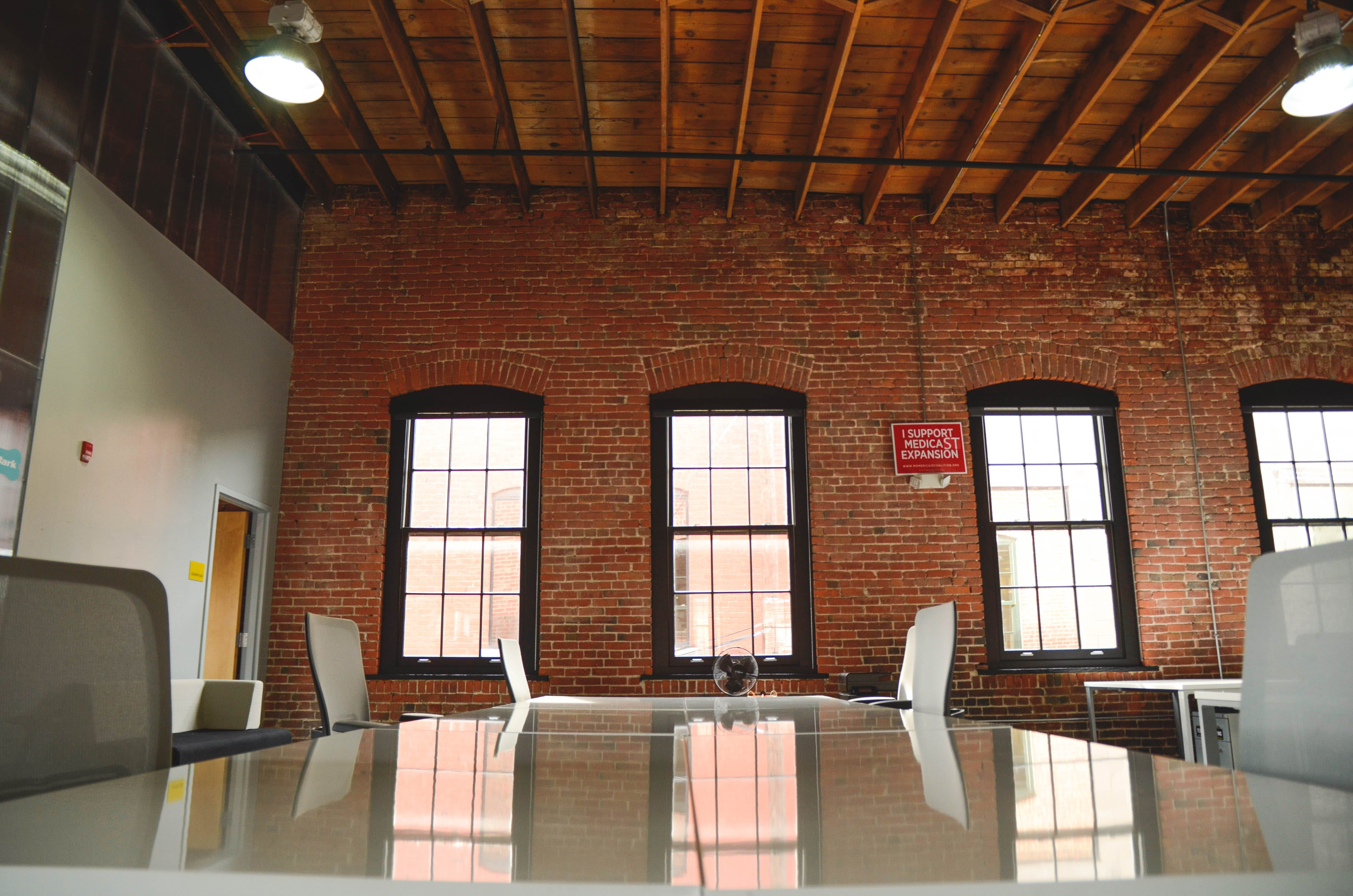 Free stock photo of accelerator, brick, clean, coworking