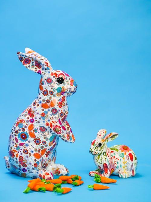 Bức Tượng Nhỏ Thỏ Phục Sinh đầy Màu Sắc Cho Mẹ Và Bé