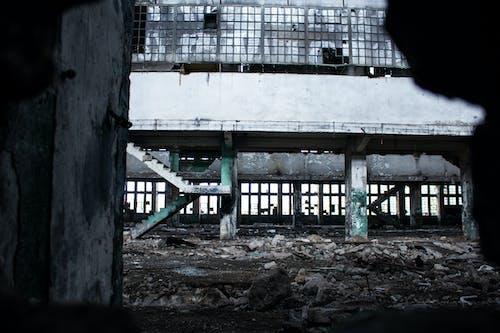 Free stock photo of abandoned, empty, ruined