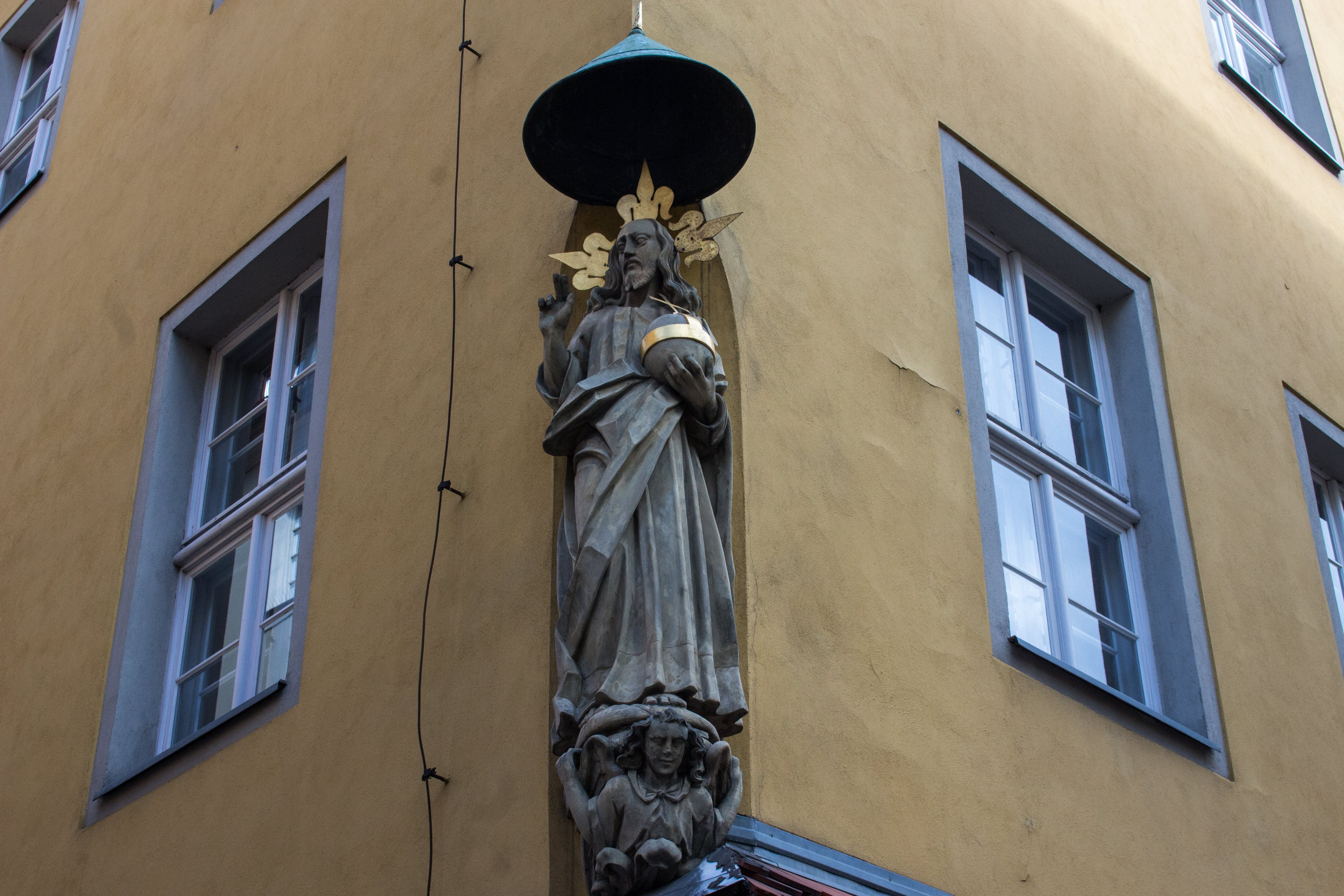Free stock photo of #architecture, #oldtown, #saint, #statue