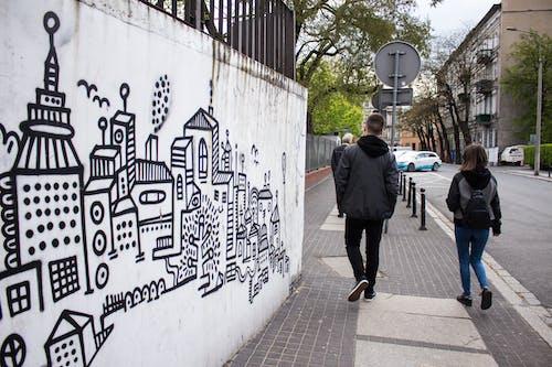 Ingyenes stockfotó #emberek, #falfirkálás, #művészet, #utca témában