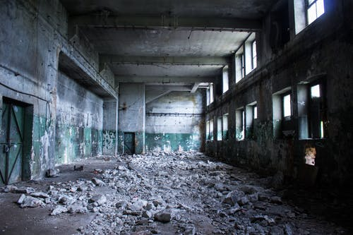 Free stock photo of #abandoned, #building, #ruined, #ruins