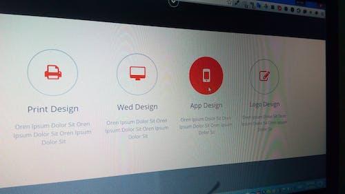 디자인 인쇄, 로고 디자인, 섹션, 슬라이더의 무료 스톡 사진