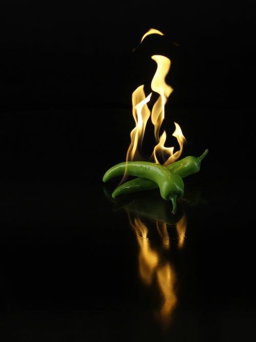 Základová fotografie zdarma na téma chili, hoření, hořící, jídlo