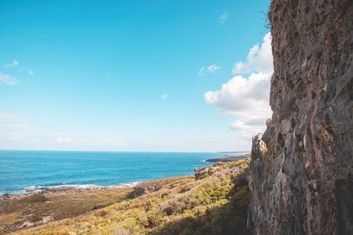 Free stock photo of beach, cliff, landscape