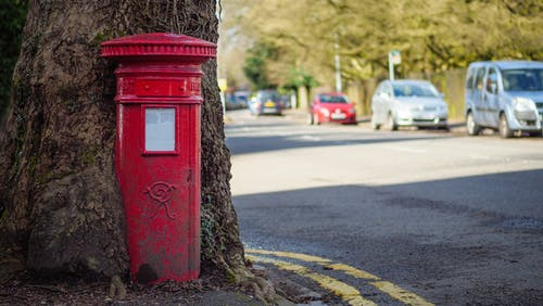 Free stock photo of box, british, communication
