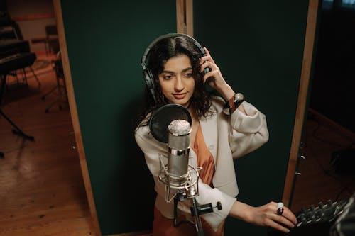 Free stock photo of adult, audio, audio equipment