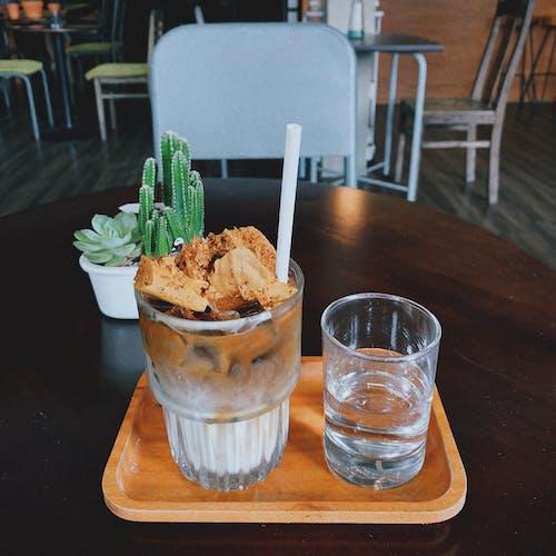 Photos gratuites de boisson glacée, boissons, café
