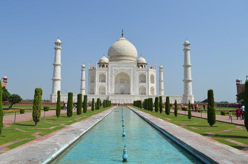 Free stock photo of 7 wonders, india, monument, taj mahal