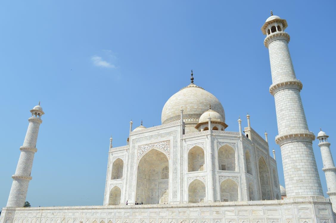 Free stock photo of monument, taj mahal