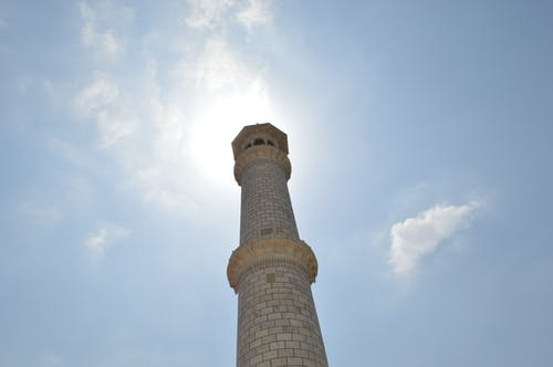 Free stock photo of blue sky, cloudy sky, minaret