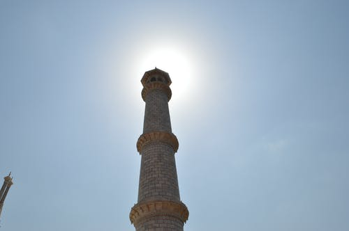 Free stock photo of monument, sunshine, taj mahal