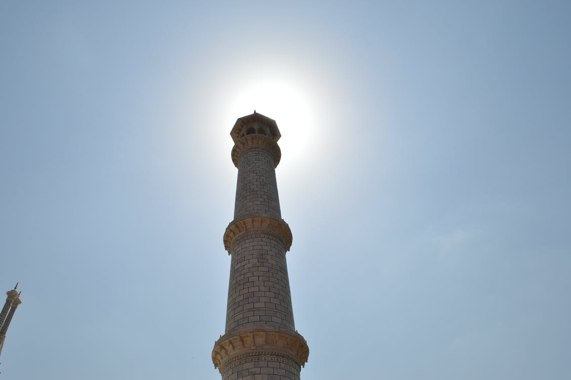 Free stock photo of monument, sunshine, taj mahal