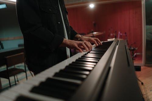Foto stok gratis alat musik, bermain, instrumen perkusi