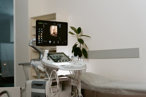 Photo Of Ultrasound Scanner