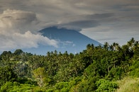 nature, mountain, volcano