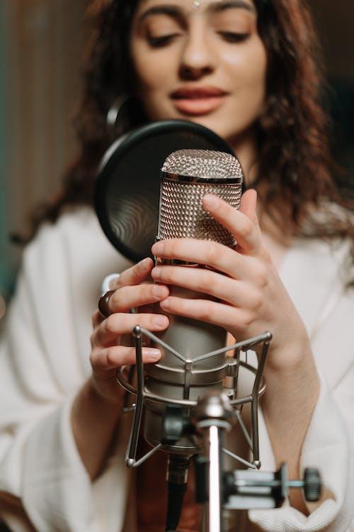 Free stock photo of adult, amplifier, audio engineering