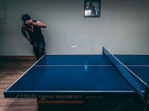 Foto stok gratis atlet, bermain, bersih, biru