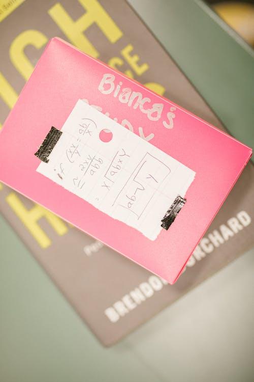 Immagine gratuita di carta, cheat sheet, flat lay