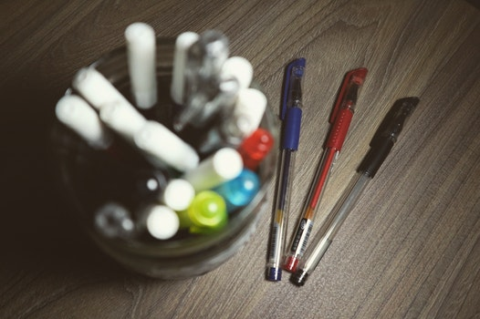 Assorted Color Ball Point Pens