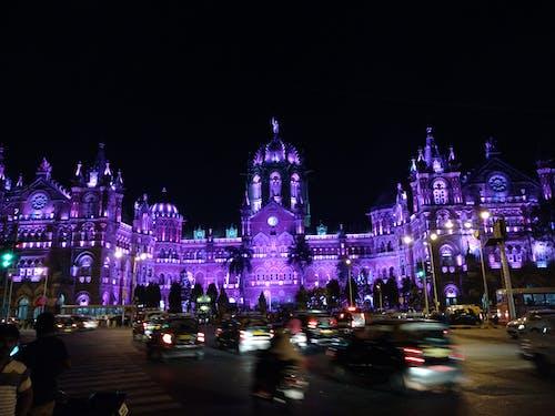 Gratis stockfoto met chhatrapati shivaji maharaj terminus