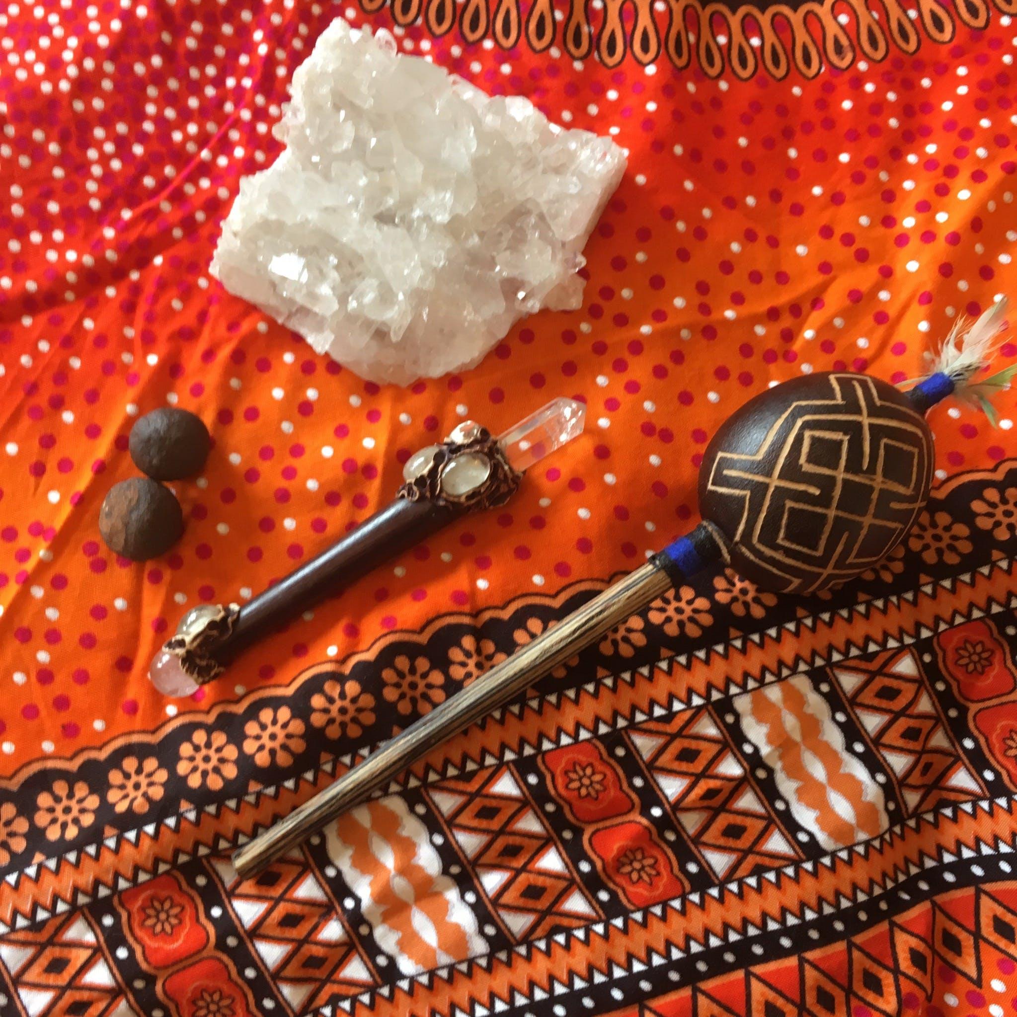 Základová fotografie zdarma na téma chrastítko, křišťály, šamanské, uzdravení