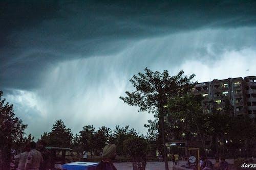 Free stock photo of dark clouds, dark sky, weather