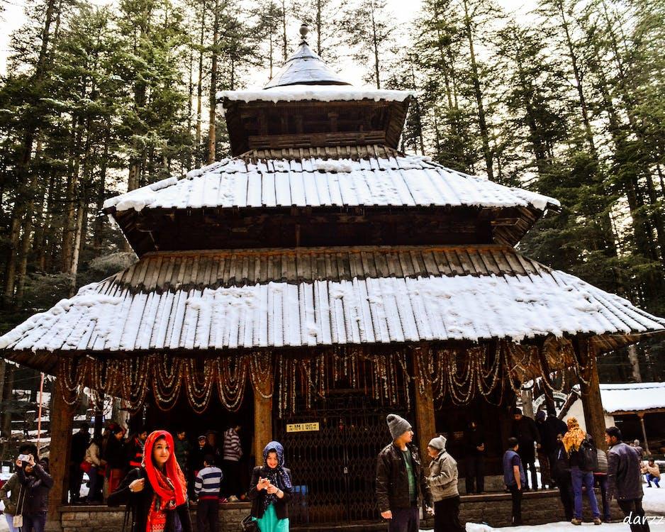 Free stock photo of devtional, hadimba temple, temple
