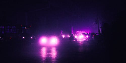 Free stock photo of at night, city road, city traffic