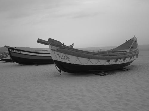 Two Nazare Boat