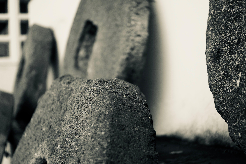 Black Concrete Slab