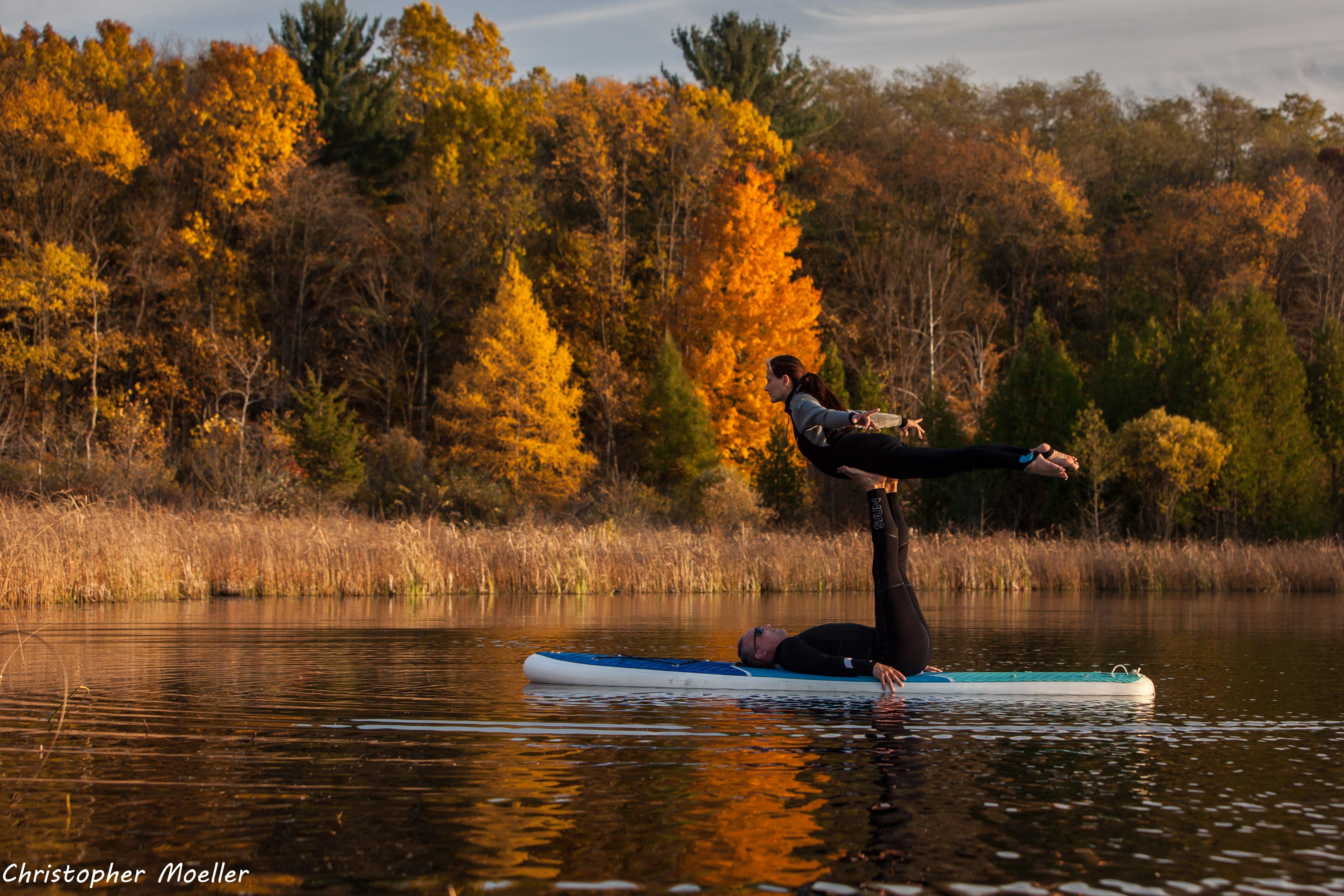 Free stock photo of acrobatics, acroyoga, autumn, autumn colors