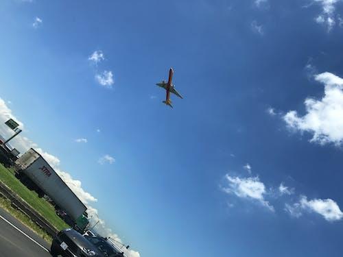 havaalanı, uçak, uçuş içeren Ücretsiz stok fotoğraf