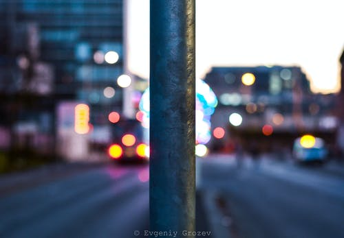 Free stock photo of city, focus, life, lights