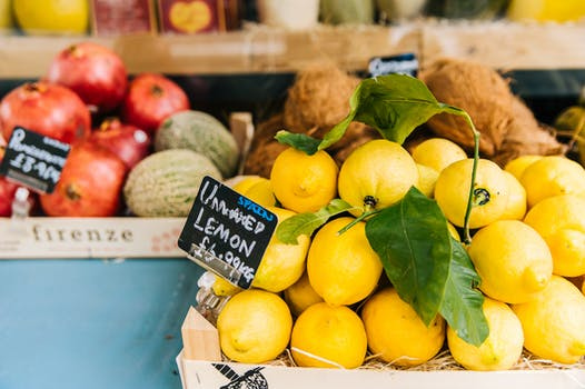 Lemon Fruit Stall